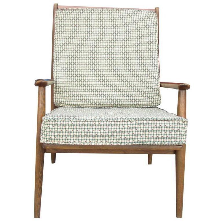 Vintage Danish Teak Lounge Chair