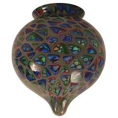 Murano Mosaic Glass Globe Shade