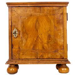 Queen Anne Walnut Veneered Table Cabinet