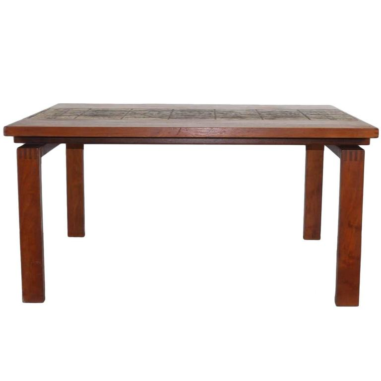 Teak Dining Table by Ox Art