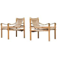Arne Norell Sirocco Easy Chairs by Arne Norell AB in Sweden