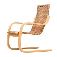 Alvar Aalto Easy Chair Model 406 by Artek in Finland