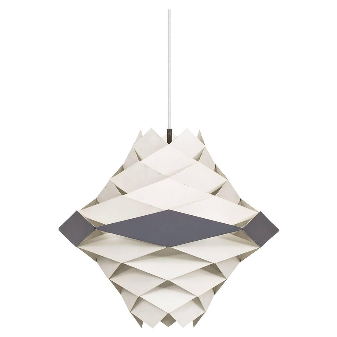 Preben Dahl Ceiling Lamp Model Symfoni by Hans Følsgaard A/S in Denmark