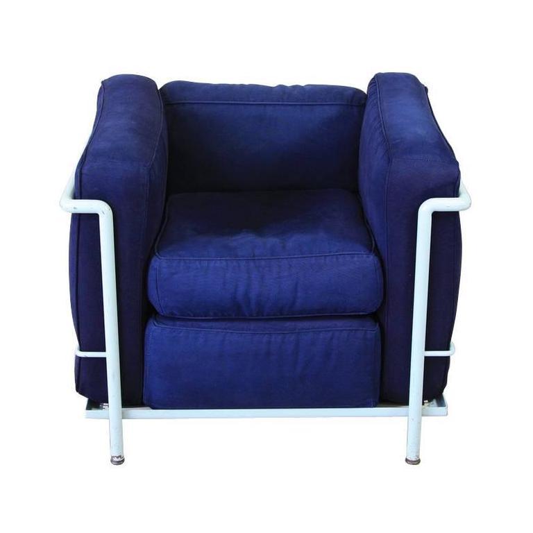 lc2 lounge chair by le corbusier et al cassina 1970s 1