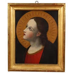 17th Century, Roman Painting of a Saint