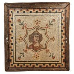 Large, 18th Century, Roman Mosaic Panel