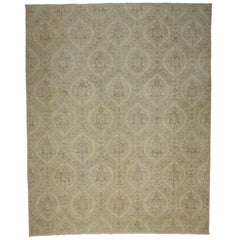 New Transitional Area Rug with French Provincial Georgian Style and Ogee Pattern