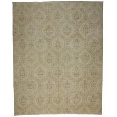 Transitional Area Rug with Modern French Provincial Style