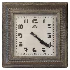 Faux Fer Forge ATO Clock