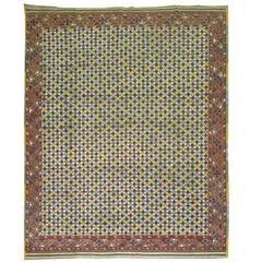 Decorative Antique Ersari Rug