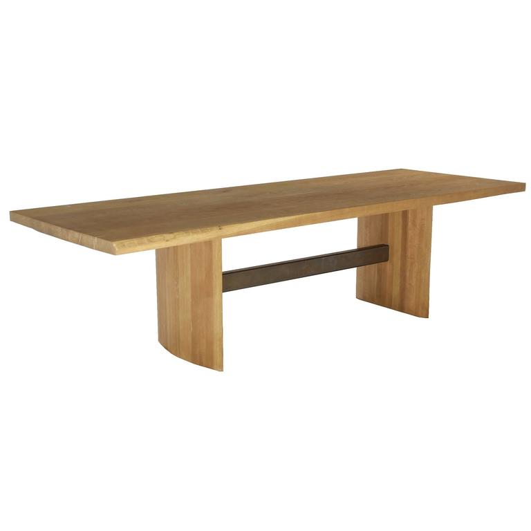 Custom Jantar Alloy Dining Table by Thomas Hayes Gallery