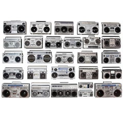 Unique Vintage Boombox Collection from the 1980s