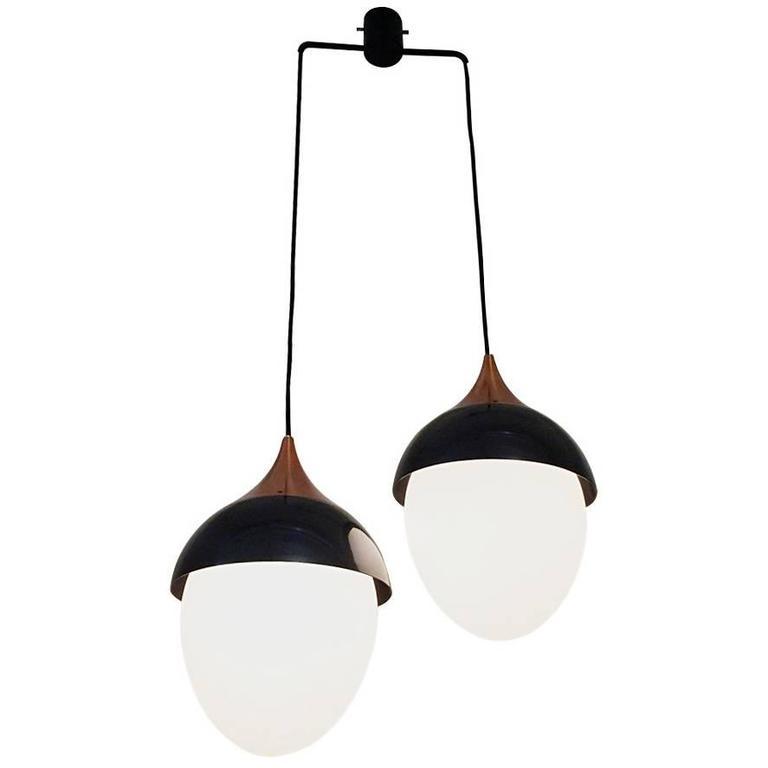 Ceiling Lamp, Design Stilnovo, 1950