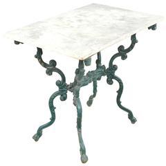 19th Century Italian Bistro Table / Garden Table