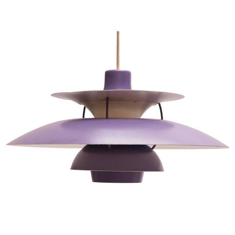 poul henningsen pendant ph5 for sale at 1stdibs. Black Bedroom Furniture Sets. Home Design Ideas