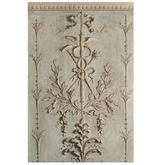 Beautiful Wood Panelling Decoration in Oak, Louis XVI Style, 18th Century