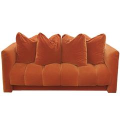 Settee with Channeled Design by Martin Brattrud for Steve Chase