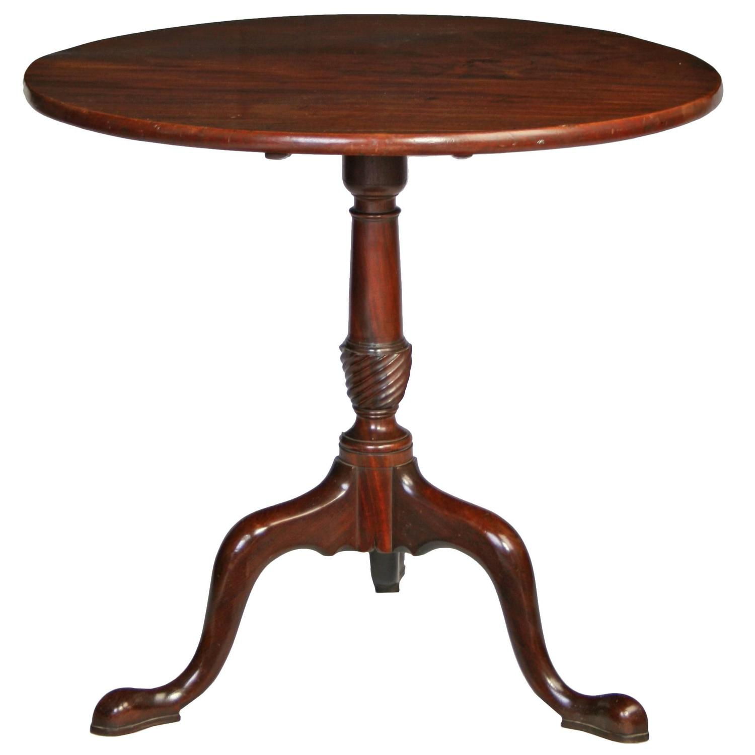 george iii mahogany tripod table at 1stdibs. Black Bedroom Furniture Sets. Home Design Ideas