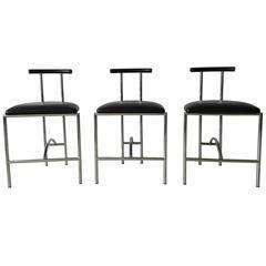 Tokyo Chairs Bieffeplast by Rodney Kinsman for DePadova,1985, Set of Three