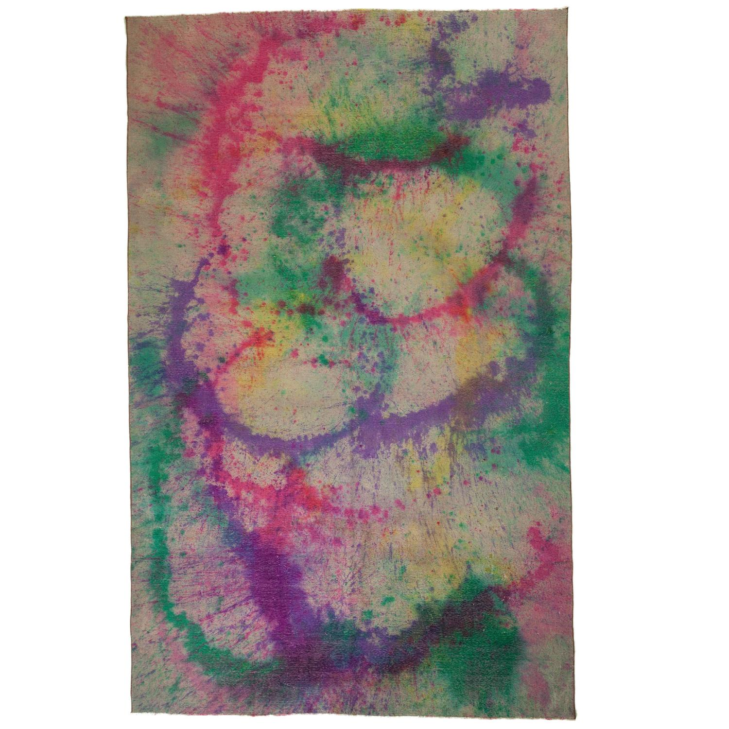 Tie Dye Rug For Sale At 1stdibs