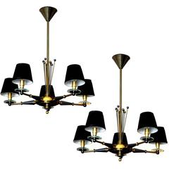 Pair of Maison Jansen Chandeliers