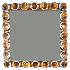 Bakalowits Vienna Backlight Wall Mirror with Huge Crystals