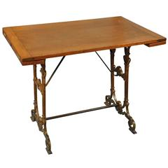 French Late 19th Century Bistro Table