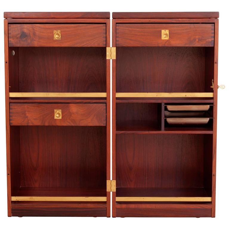Rosewood Captains Bar by Reno Wahl Iversen  For Sale