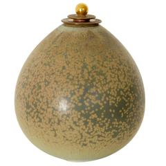 Lidded Vase by Nils Thorssen and Knud Andersen