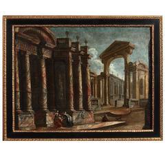 18th Century Capriccio Landscape