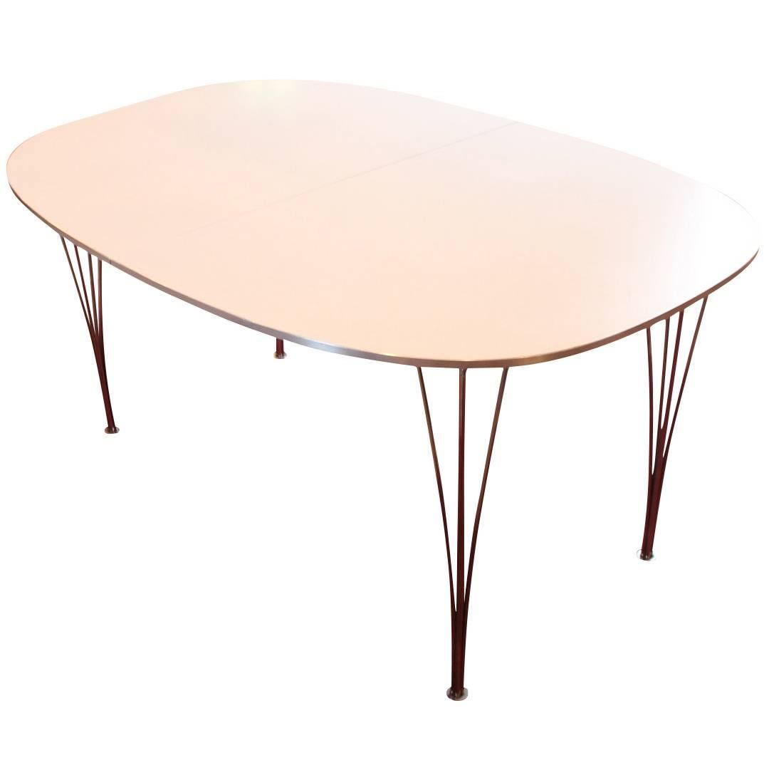 Extension Table, B618, by Piet Hein and Manufactured by Fritz Hansen