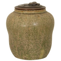 Lidded Vase by Carl Hailer and Georg Thylstrup