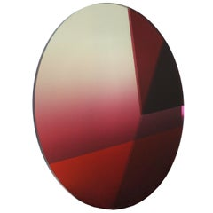 Contemporary Big Round Mirror 122 cm, Seeing Glass Series by Sabine Marcelis