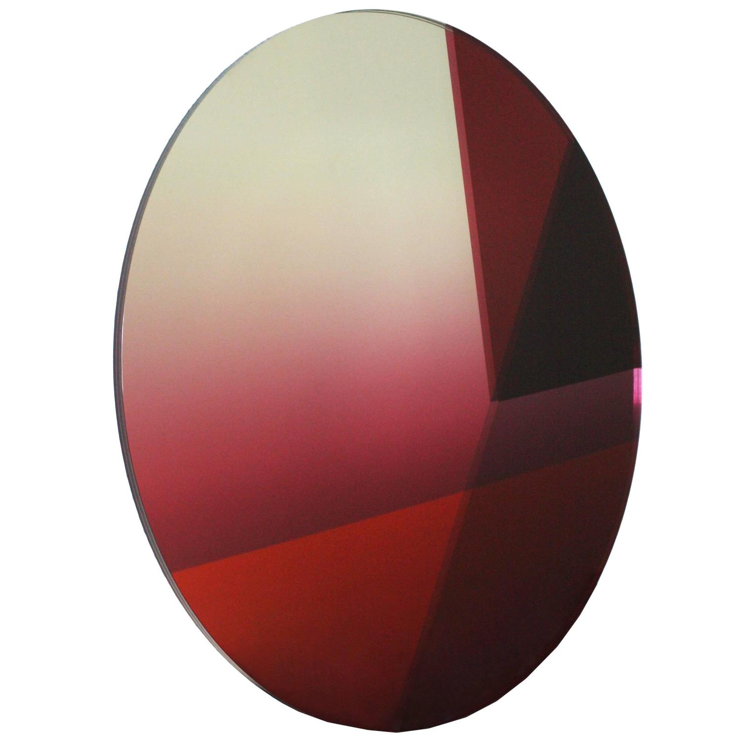Seeing glass big round mirror for sale at 1stdibs for Big round mirror