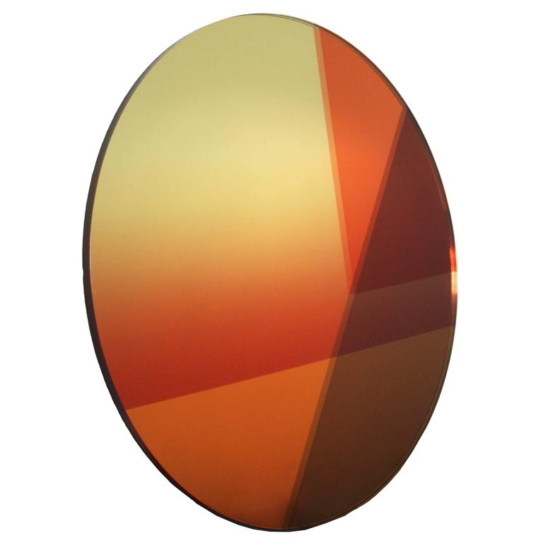 Seeing Glass Big Round Mirror, Small (77 cm)