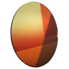 Contemporary Big Round Mirror 77 cm, Seeing Glass Series by Sabine Marcelis
