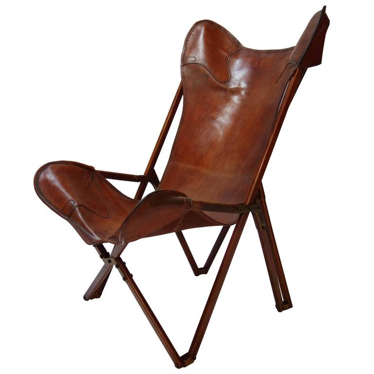 Amazing Foldable Tripolina Leather Armchair By Joseph Beverly Fenby Evergreenethics Interior Chair Design Evergreenethicsorg