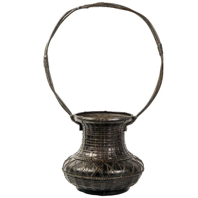 19th Century Japanese Ikebana Bronze ( Flowers Vase)
