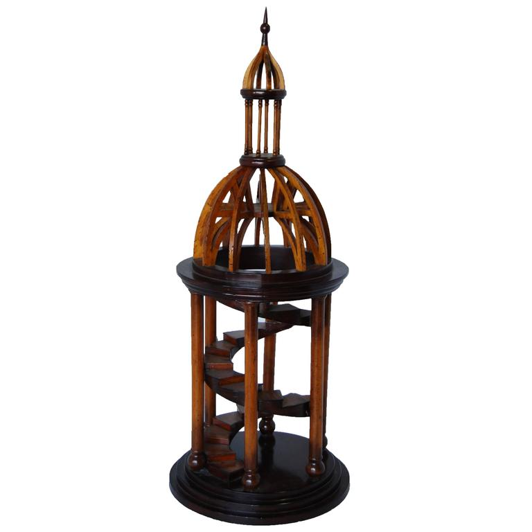 Carved Wood Bell Tower Model 1