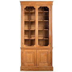 George III Period Pine Bookcase