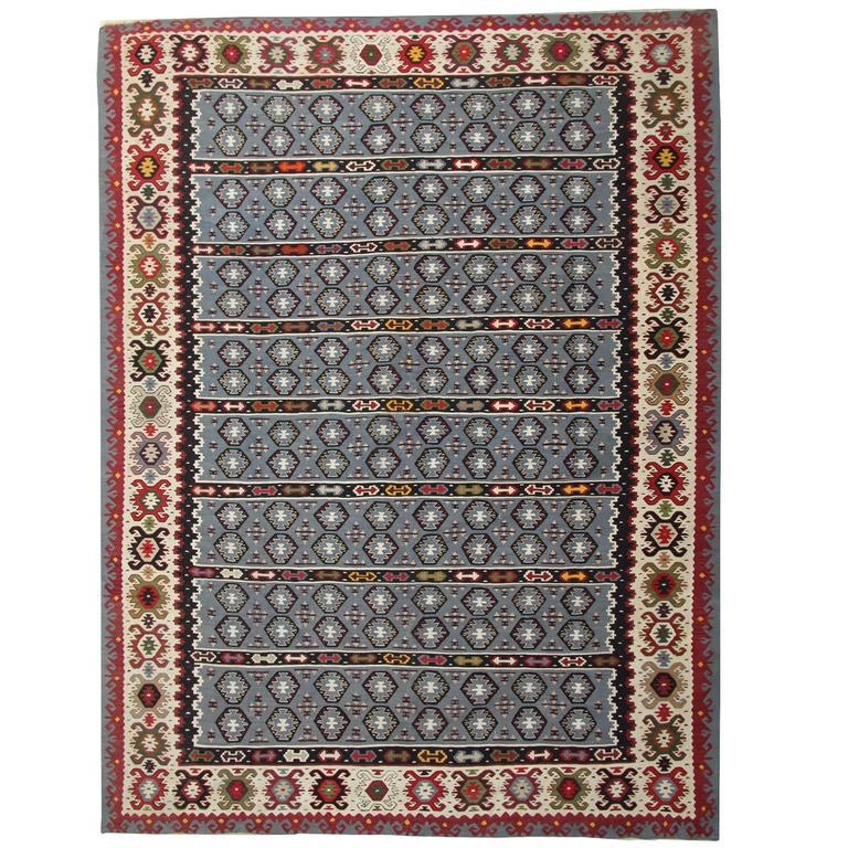 Antique Serbian Kilim Rug For Sale At 1stdibs