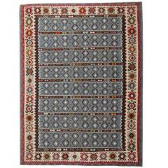 Antique Serbian Kilim Rug