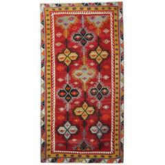 Antique Anatolian Turkish Kilim Rugs