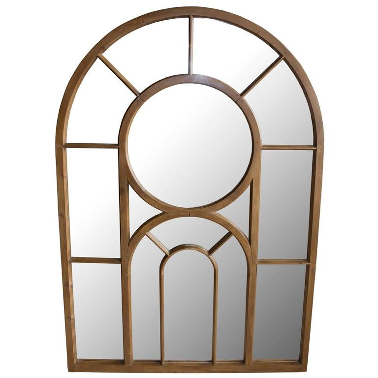 Antique Gothic Window Mirrored At 1stdibs