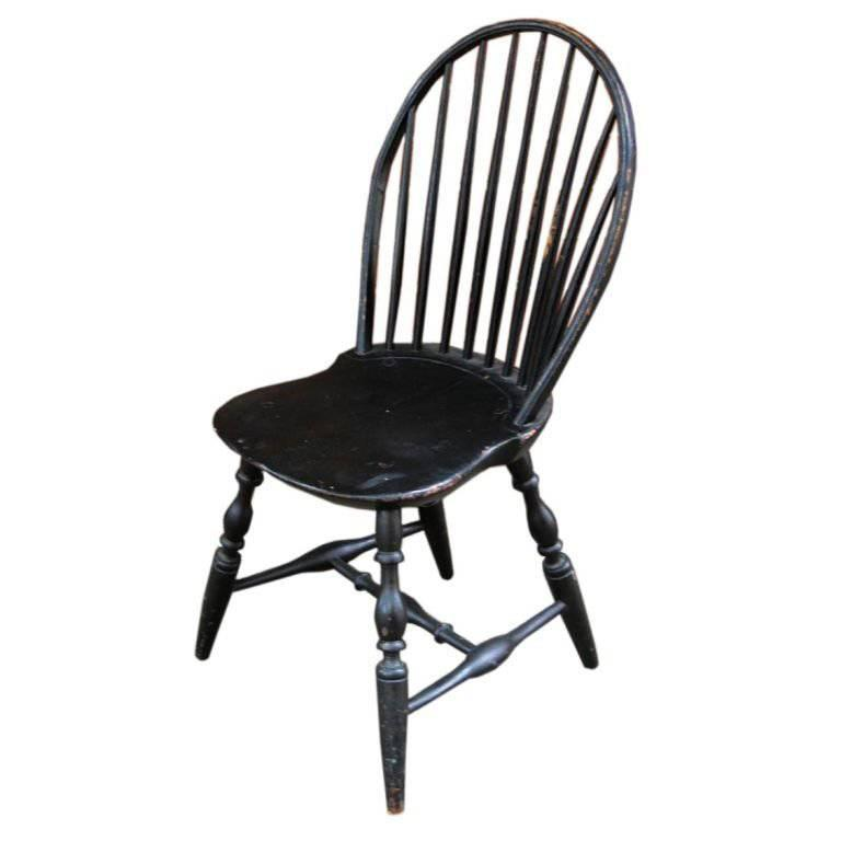 American Bow Back Windsor Side Chair Circa 1780 At 1stdibs