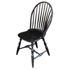 American Bow-Back Windsor Side Chair, circa 1780