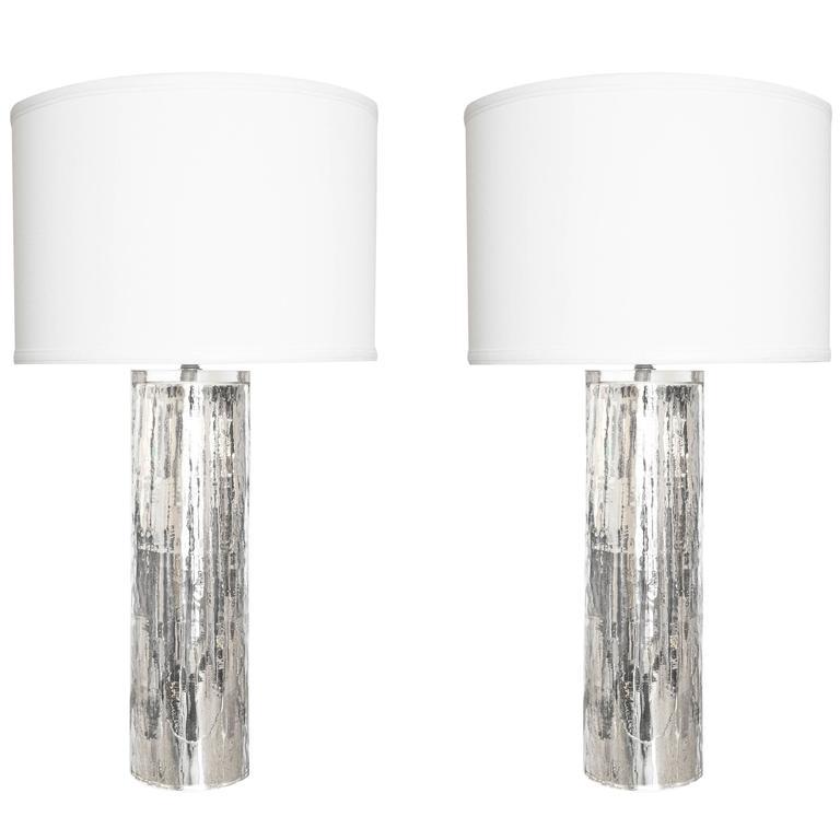 Vintage Mercury Murano Gl Lamps