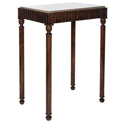 Axel Einar Hjorth Coolidge Console Table with Marble Top, 1929
