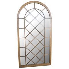 Antique Gothic Window Mirrored