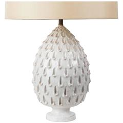 Hand Glazed Italian Ceramic Table Lamp